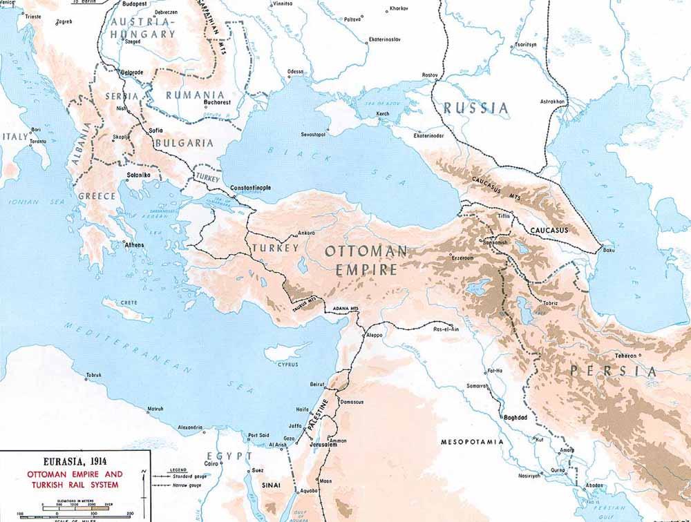 османская железнодорожная сеть