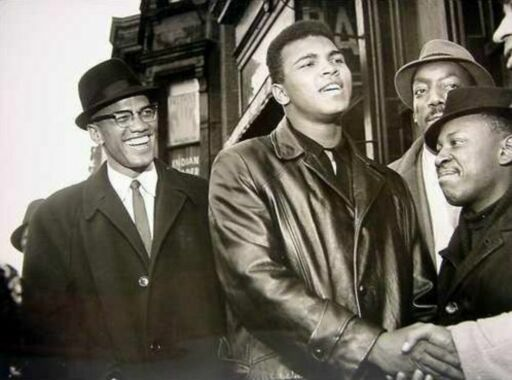 relationship between muhammad ali malcolm x