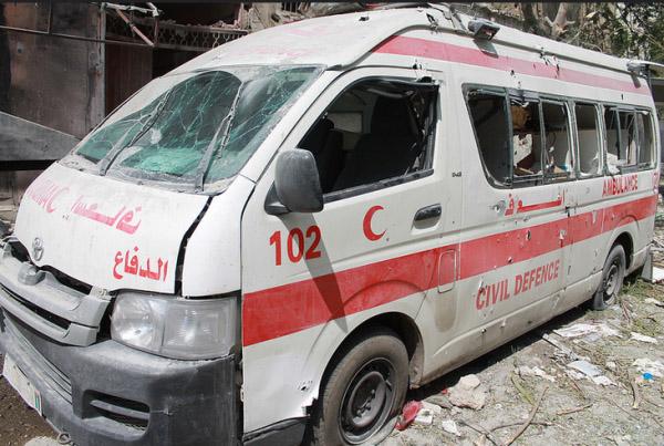 gaza ambulance 2