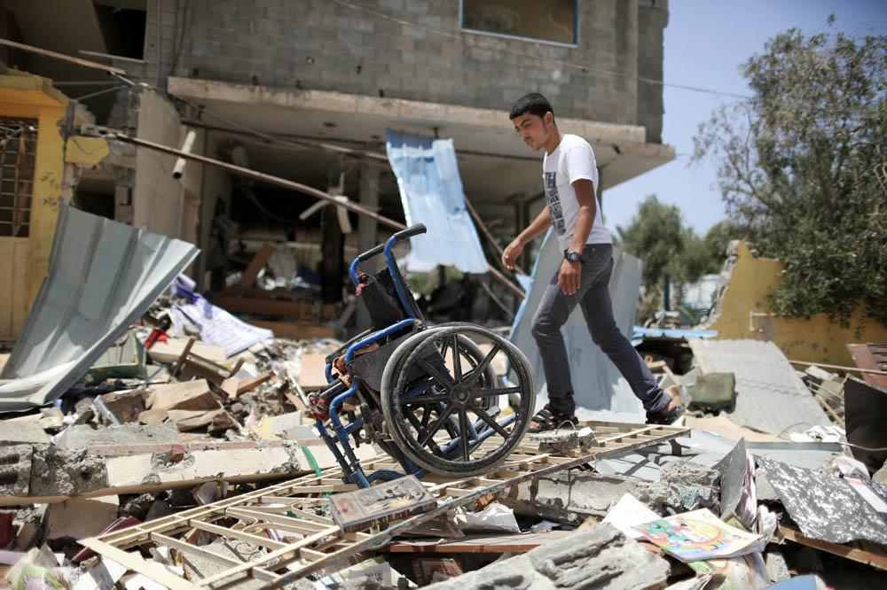 gaza disabled centre for children