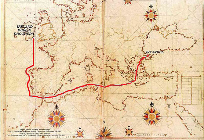 Ottoman Irish Famine Route