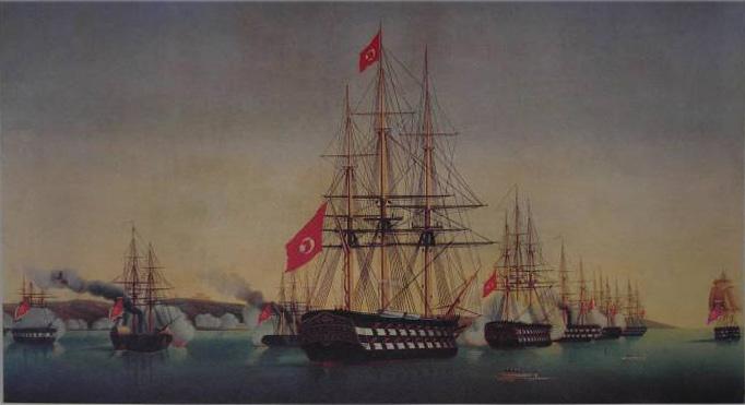 Ottoman ships to Ireland