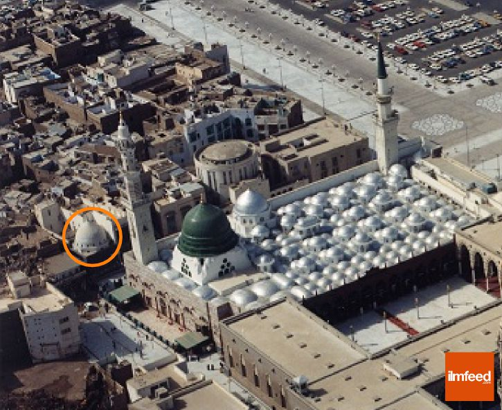 POUR VOUS MES FRERES  - Page 7 Masjid-nabawi-locaiton-of-abu-ayyub-al-ansaris-home-2