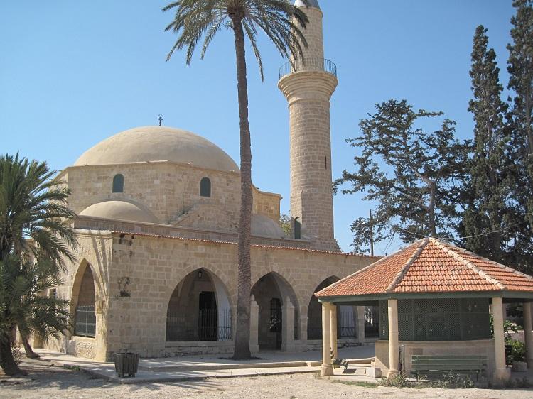 umm haram mosque exterior