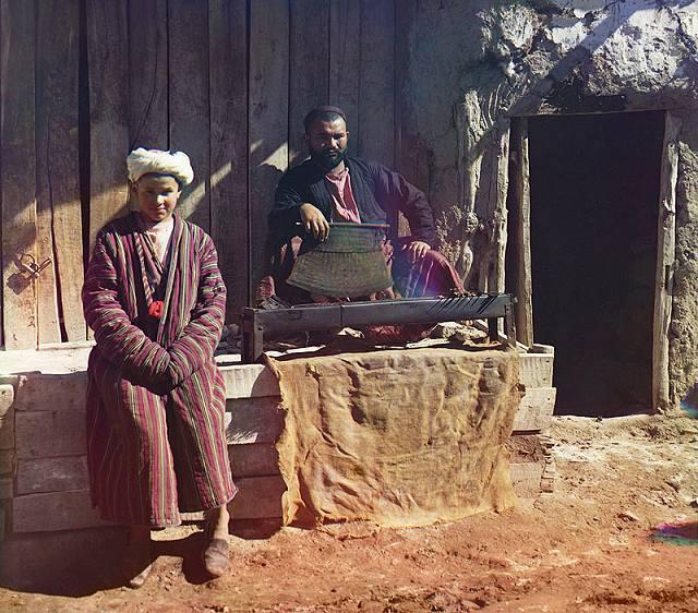 9 Kebab house. Samarkand, 1911