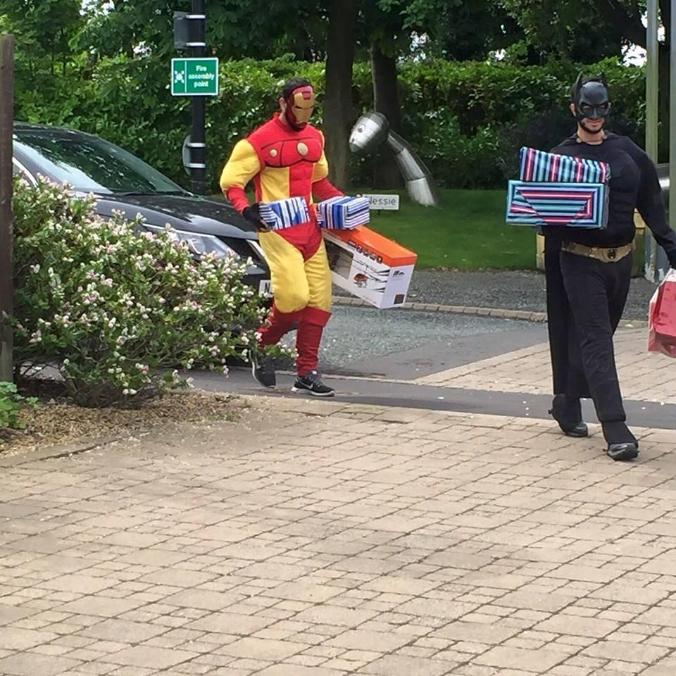 iron man batman