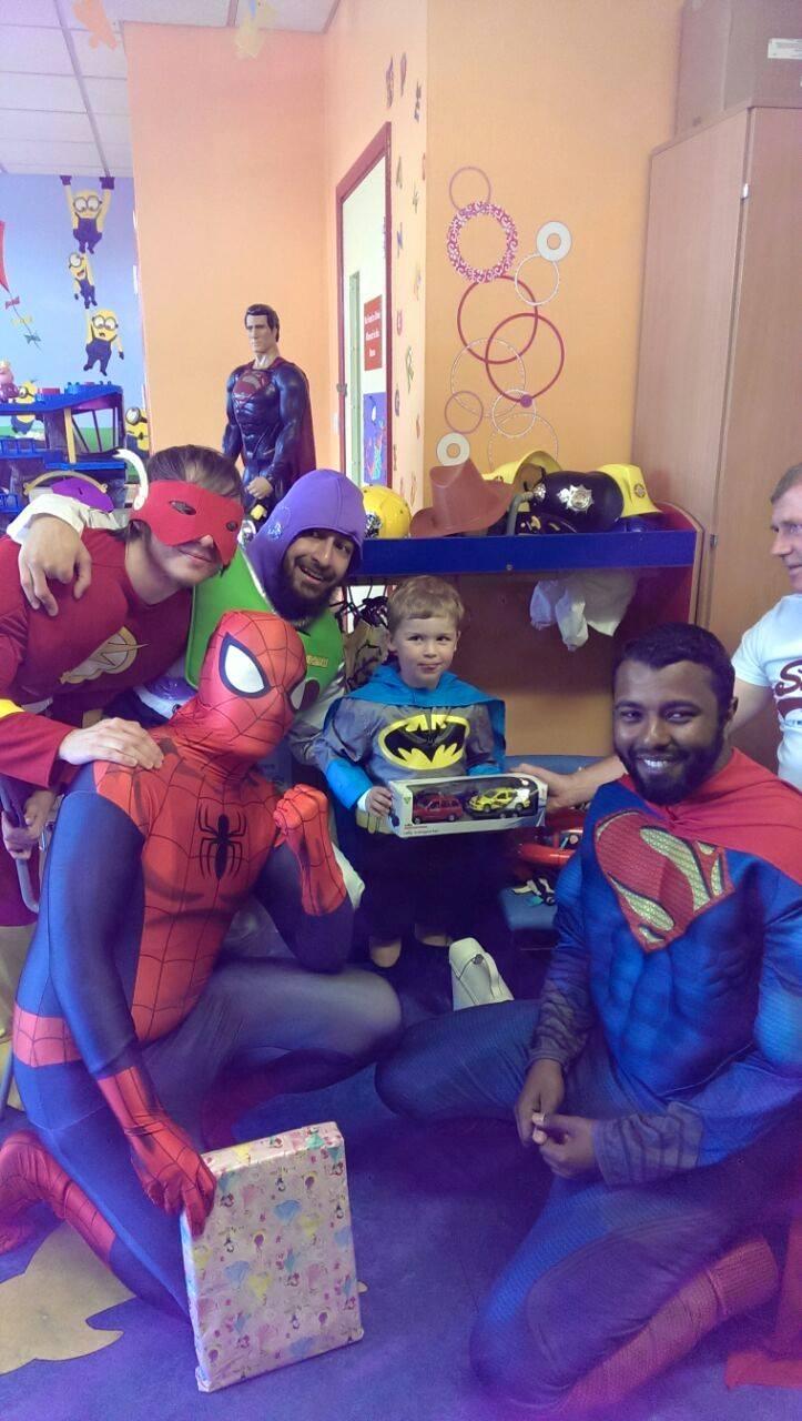 spiderman superman