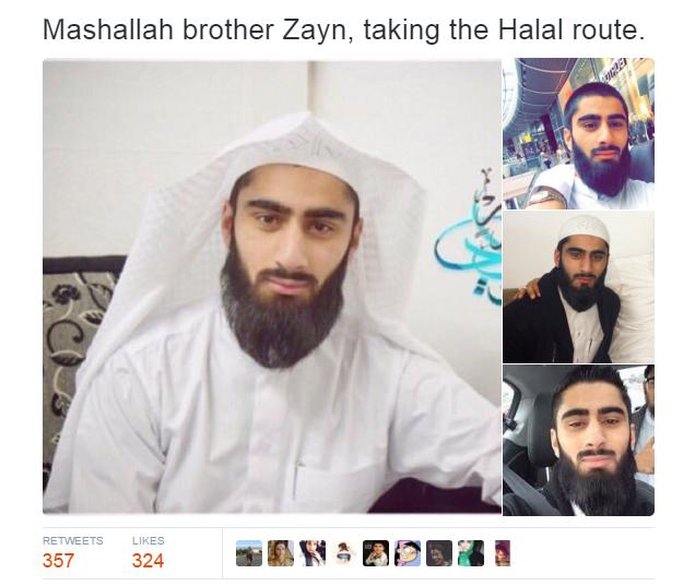 Zayn malik muslim or christian