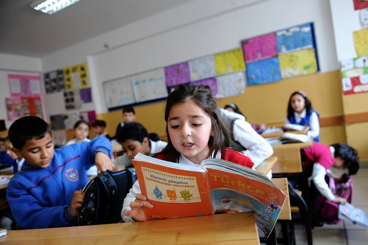 turkish school children
