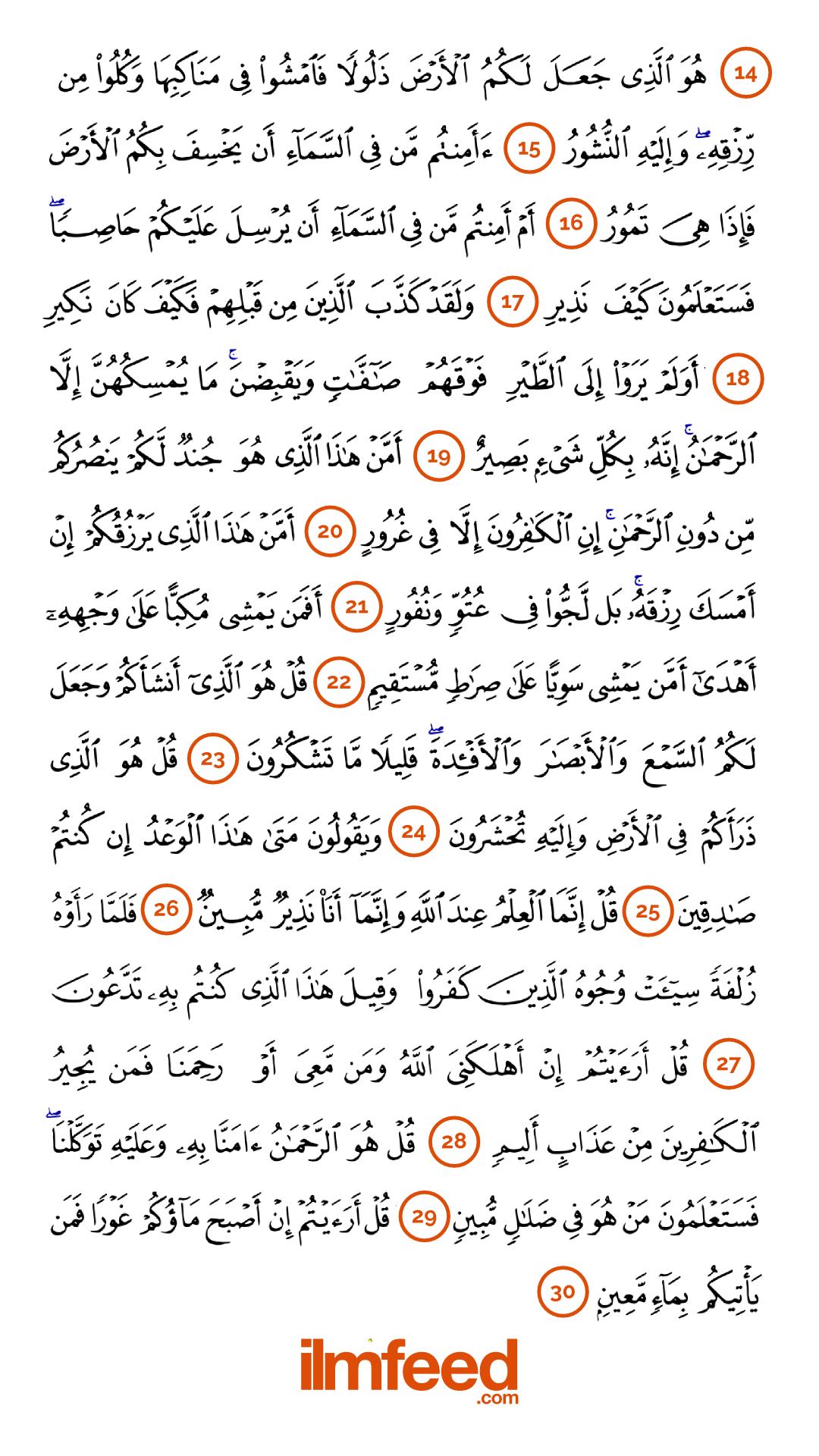 The Ramadan Surah Al-Mulk Challenge - IlmFeed