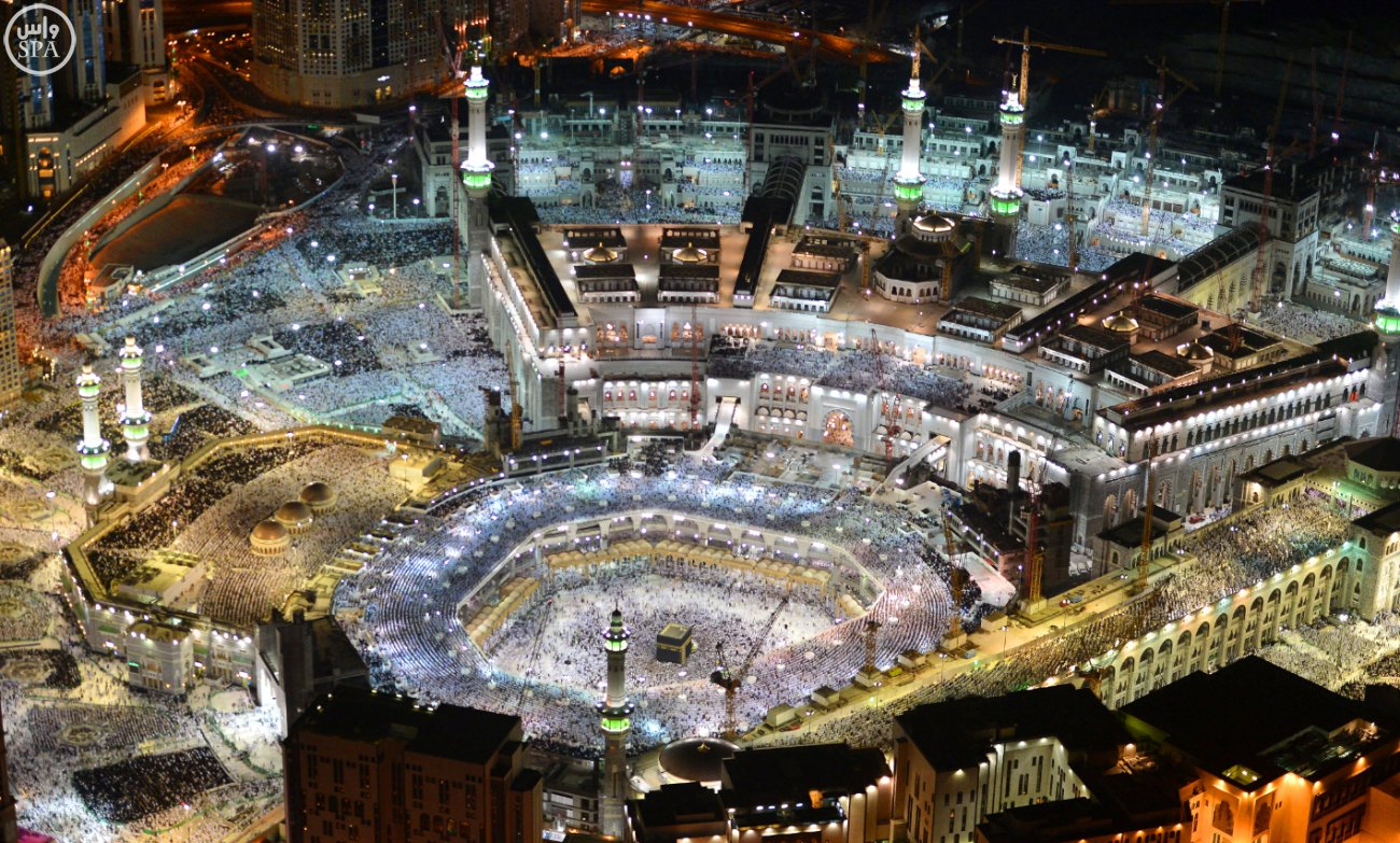 10 Amazing Aerial Photos From Makkah Taken During The 27th Night Of Ramadan Ilmfeed