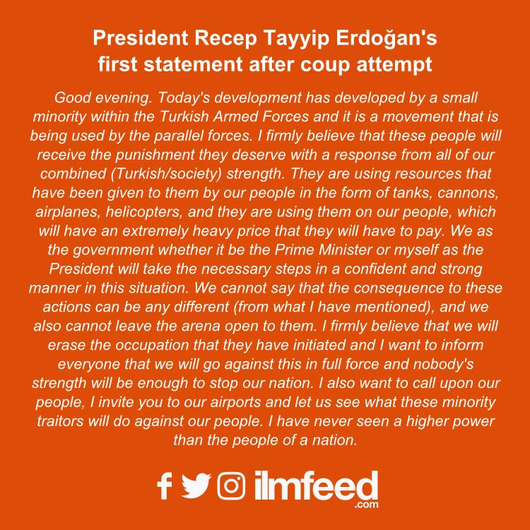 erdogan statement