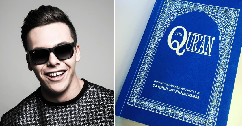 youtube prankster jack jones says the qur 39 an is 39 powerful. Black Bedroom Furniture Sets. Home Design Ideas