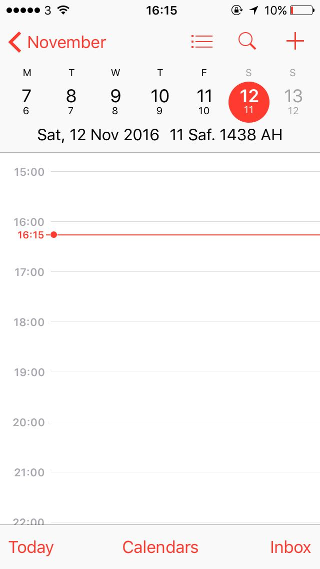 How to Get Hijri Dates on Your iPhone - IlmFeed