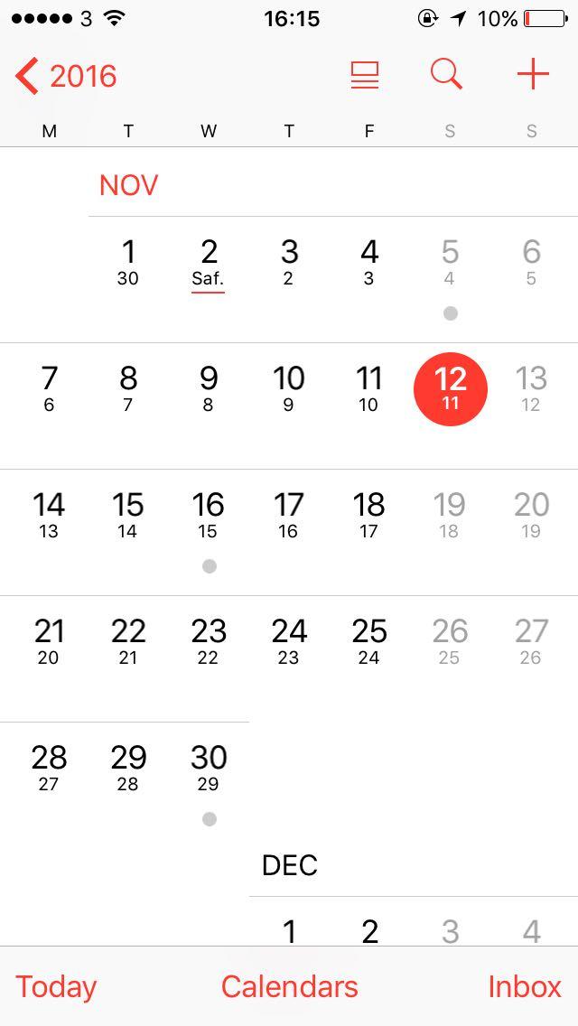 Dating kalender app