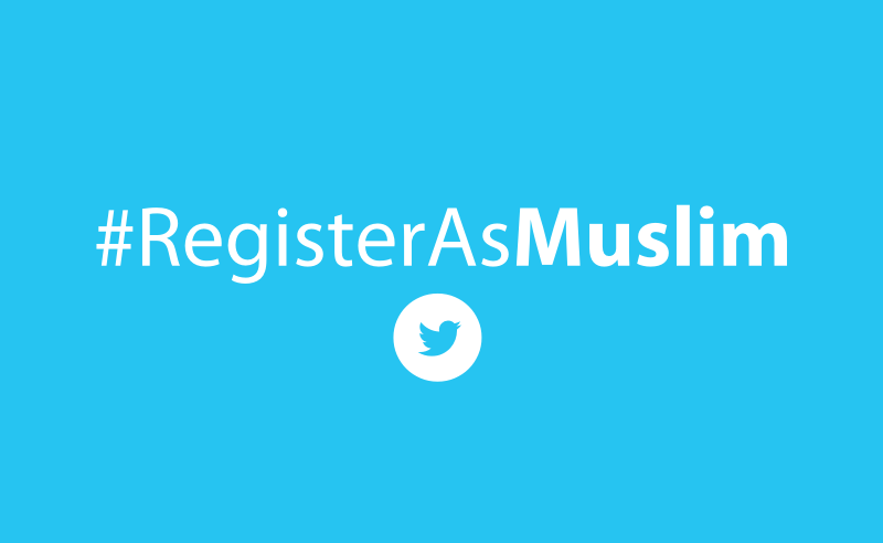 register muslim This is the day this proud jew will register as muslim, jonathan greenblatt said.